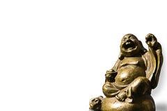 золото Будды переднее Стоковые Изображения