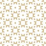 Золото вектора и белая предпосылка Роскошная орнаментальная текстура Золотой дизайн для оформления, ткани, ткани иллюстрация штока