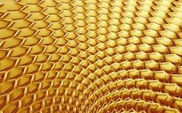 золото вентилятора Стоковые Изображения
