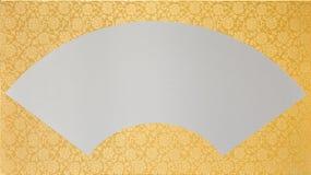 золото вентилятора Стоковая Фотография