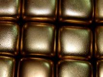 Золото в слитках золота на черной предпосылке Стоковое фото RF