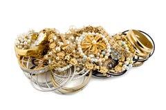 золото диамантов Стоковое Изображение