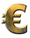 золото евро иллюстрация штока