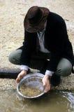 золото землекопа Стоковое фото RF