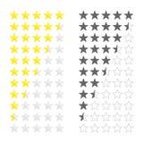 Золото играет главные роли оценка иллюстрация вектора