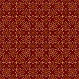 Золото и красная металлическая регулярн безшовная картина бесплатная иллюстрация