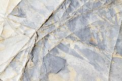 Золото и серебряный серый цвет сделали по образцу естественный шифер с veined текстурой стоковая фотография