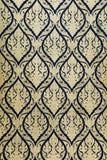 золото крася тайское традиционное Стоковые Фотографии RF