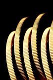 золото края монеток Стоковые Фото