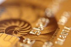 золото кредита карточки стоковые изображения