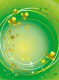 золото листва Стоковые Изображения