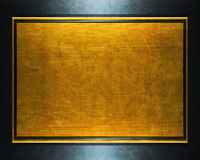 золото металлопластинчатое Стоковая Фотография