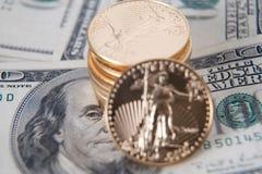золото миллиарда стоковые фотографии rf