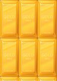 золото миллиардов Стоковое Изображение
