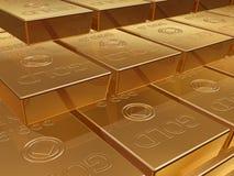 золото миллиарда Стоковое Фото