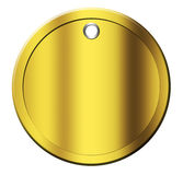 золото монетки Стоковые Изображения RF