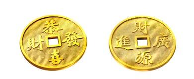 золото монетки Стоковое фото RF