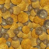 золото монеток старое Стоковые Фото