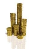 золото монеток иллюстрация штока