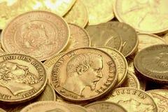 золото монеток Стоковые Фото