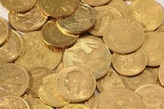 золото монеток Стоковые Изображения