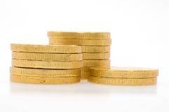 золото монеток Стоковые Фотографии RF