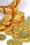 золото монеток Стоковые Изображения RF