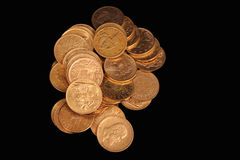 золото монеток Стоковое Изображение RF