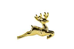 золото оленей рождества Стоковое фото RF