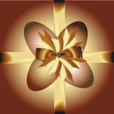 золото пасхальныхя смычка Стоковая Фотография