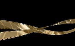 золото пленки Стоковые Изображения RF