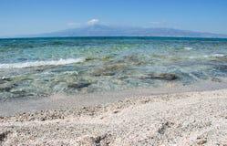 золото пляжа Стоковые Изображения RF