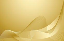 золото предпосылки Стоковое Изображение RF