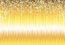 золото предпосылки глянцеватое Стоковое Изображение