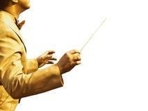 золото проводника вручает s Стоковая Фотография RF