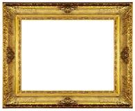 золото рамки богато украшенный Стоковая Фотография RF
