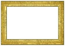 золото рамки граници Стоковое Изображение RF
