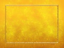 золото рамки предпосылки текстурировало Стоковое Изображение