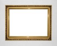 золото рамки antique Стоковое Изображение RF