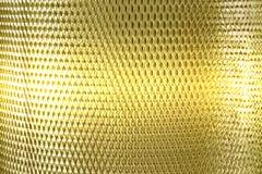 Золото решетки сетки металла Стоковое фото RF