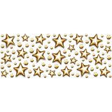 Золото рождества играет главные роли и отбортовывает в прямоугольнике на белой предпосылке иллюстрация штока