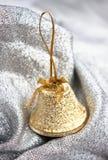 золото рождества колокола Стоковые Изображения RF