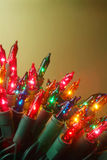 золото рождества Стоковая Фотография