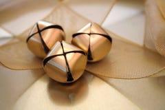 золото рождества Стоковые Фотографии RF