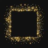 золото сверкная иллюстрация штока