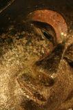 золото стороны Будды Стоковое Изображение RF