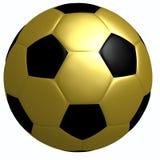 золото футбола Стоковое Изображение RF