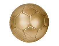 золото футбола Стоковая Фотография