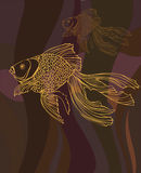 золото цвета стоковая фотография