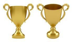 золото чашки Стоковое Фото